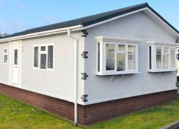 Thumbnail 2 bed mobile/park home for sale in Willow Park, Gladstone Way, Mancot, Deeside