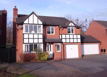Thumbnail 5 bed detached house for sale in Auden Crescent, Ledbury