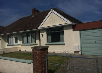 Thumbnail 2 bed semi-detached bungalow to rent in Chestwood Avenue, Sticklepath, Barnstaple, North Devon