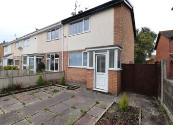 Thumbnail 2 bed end terrace house for sale in Chain Lane, Staining, Blackpool, Lancashire