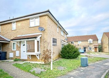 Thumbnail 1 bed terraced house for sale in Alder Close, Eaton Ford, St. Neots