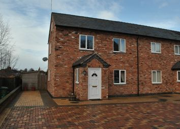 Thumbnail 3 bed end terrace house to rent in Alkington Road, Whitchurch, Shropshire
