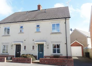 Thumbnail 3 bed semi-detached house for sale in Allen Road, Shaftesbury