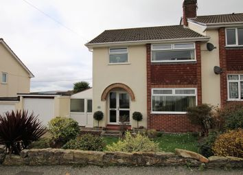 Thumbnail 3 bed semi-detached house for sale in Midway Road, Bodmin, Cornwall