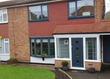 Thumbnail 3 bed semi-detached house to rent in Southview Close, Rayleigh, Essex