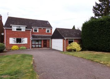 Thumbnail 4 bed detached house for sale in Hawthorne Drive, Evington, Leicester, Leicestershire