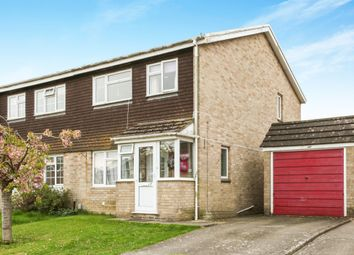 Thumbnail 3 bed semi-detached house for sale in Nicolson Close, Amesbury, Salisbury