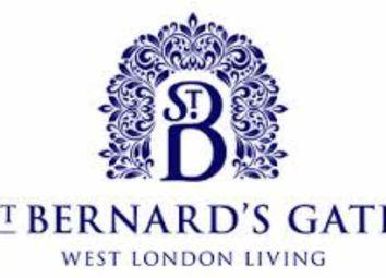 Thumbnail 1 bed flat for sale in St Bernard's Gate, London