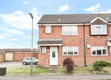 Thumbnail 3 bed end terrace house to rent in Osborne Close, Frimley, Camberley, Surrey