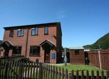 Thumbnail 2 bed semi-detached house to rent in Craigfryn, Machynlleth