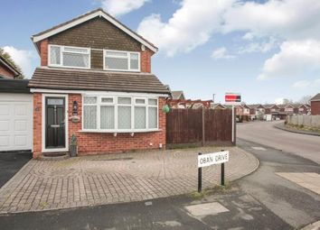 Thumbnail 3 bed detached house for sale in Oban Drive, Nuneaton, Warwickshire, .