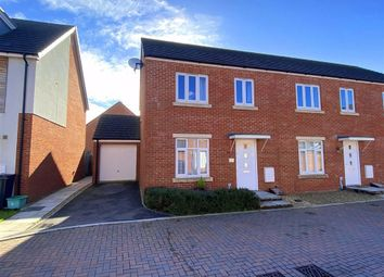 Thumbnail 3 bed end terrace house for sale in Oakhanger Lane Kingsway, Quedgeley, Gloucester