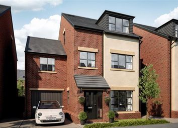 Thumbnail 5 bed detached house for sale in Woodland Grange, Ellenbrook, Manchester