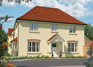 "Thumbnail 3 bedroom detached house for sale in ""The Spruce"" at Priory Fields, Wookey Hole Road, Wells, Somerset, Wells"