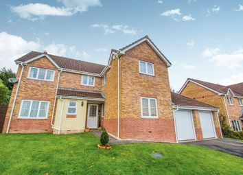Thumbnail 4 bed detached house for sale in Clos Maes Mawr, Energlyn, Caerphilly