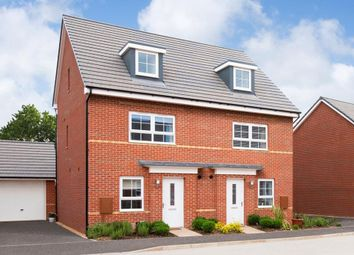 "Thumbnail 4 bedroom semi-detached house for sale in ""Kingsville"" at Tiber Road, North Hykeham, Lincoln"
