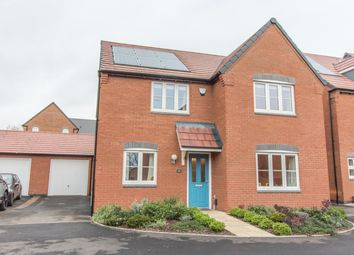 Thumbnail 4 bed detached house for sale in Frezenberg Close, Hinckley