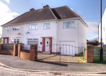 Thumbnail 4 bed semi-detached house for sale in Fosse Law, Throckley, Newcastle Upon Tyne