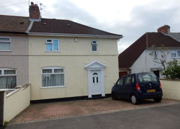 Thumbnail 3 bed semi-detached house for sale in Springleaze, Knowle, Bristol