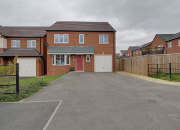 Thumbnail 4 bed detached house for sale in Chetwynd Drive, Grendon, Atherstone
