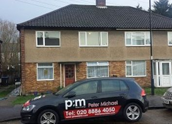 Thumbnail 2 bed flat to rent in Holmbridge Gardens, Ponders End, Enfield