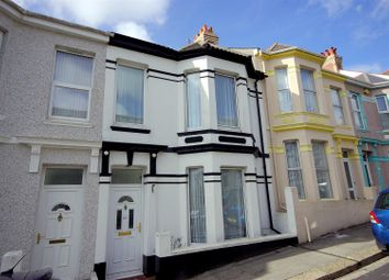 Thumbnail 3 bed terraced house to rent in Grafton Road, Mutley, Plymouth