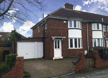 Thumbnail 3 bed semi-detached house to rent in Burton Green, York