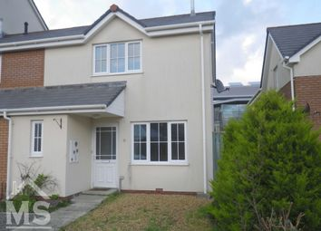 Thumbnail 2 bedroom semi-detached house for sale in Clos Gerallt, Aberystwyth