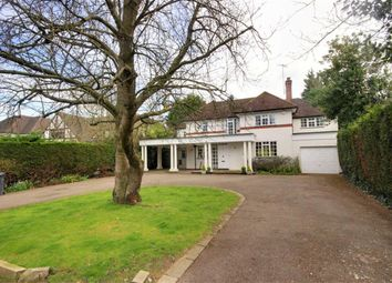 Thumbnail 4 bed detached house to rent in Oakridge Avenue, Radlett, Hertfordshire