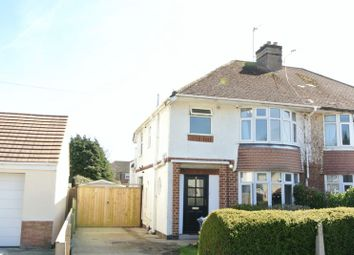 Thumbnail 3 bed semi-detached house for sale in Parkside Drive, Churchdown, Gloucester