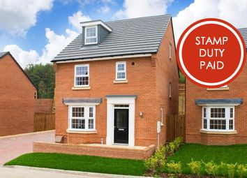 """Thumbnail 4 bed detached house for sale in """"Bayswater"""" at Burnby Lane, Pocklington, York"""