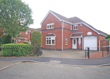 Thumbnail 4 bed detached house for sale in Edgars Drive, Fearnhead, Warrington
