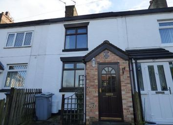 Thumbnail 2 bed terraced house for sale in Cinderhill Lane, Scholar Green, Cheshire