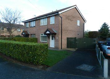 Thumbnail 3 bed semi-detached house for sale in Howard Road, Culcheth, Warrington