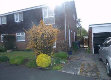 Thumbnail 2 bedroom flat to rent in Poole Close, Cramlington