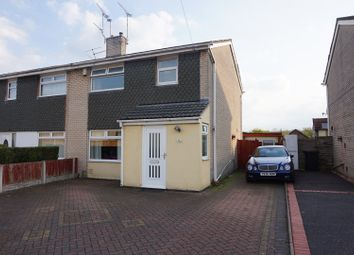 Thumbnail 3 bed semi-detached house for sale in Marnel Drive, Deeside
