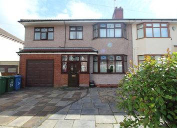 Thumbnail 4 bed semi-detached house for sale in Fairacre Road, Grassendale, Liverpool, Merseyside