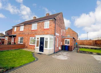 Thumbnail 3 bed semi-detached house for sale in Wycliffe Avenue, Newcastle Upon Tyne