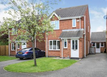 Thumbnail 3 bed detached house for sale in Harvest Grove, Moira, Swadlincote, Derbyshire