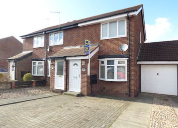 Thumbnail 2 bedroom semi-detached house for sale in Stirling Drive, Bedlington