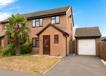 Thumbnail 3 bed semi-detached house for sale in Larks Rise, Morton, Bourne