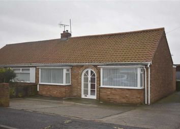 Thumbnail 2 bed semi-detached bungalow for sale in Mount Drive, Bridlington