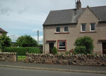 Thumbnail 3 bed end terrace house for sale in Wester Row, Greenlaw