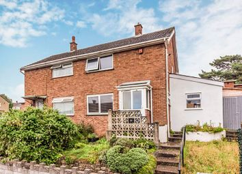 Thumbnail 2 bed semi-detached house for sale in Bideford Road, Llanrumney, Cardiff