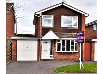 Thumbnail 3 bed detached house for sale in Waterdale, Wombourne, Wolverhampton
