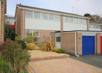 Thumbnail 3 bed semi-detached house for sale in Russell Close, Saltash