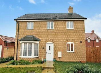 Thumbnail 3 bedroom detached house for sale in Arpins Pightle, Cranfield, Bedfordshire