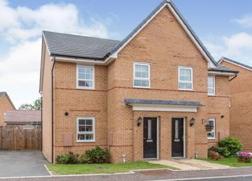 Thumbnail 3 bedroom semi-detached house for sale in Pembrooke Road, Carbrooke, Thetford