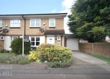 Thumbnail 3 bed semi-detached house for sale in Rochford Drive, Luton, Bedfordshire