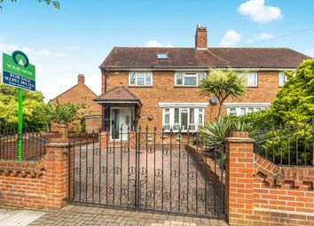 Thumbnail 3 bed semi-detached house for sale in Allaway Avenue, Cosham, Portsmouth